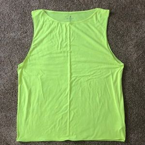 Neon Yellow Muscle Tank size Medium from Athleta